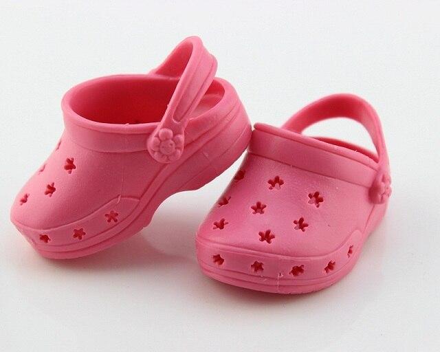 466a7594e5d Zapatos de playa Sandalias Zapatos de muñeca de la muchacha de 18 pulgadas  accesorios 18
