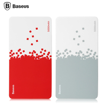 Baseus 5000mAh cell energy 16850 batteries single USB output mini energy financial institution for cellphone Pill PC Transportable cell energy financial institution