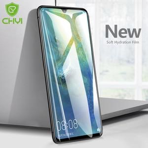 CHYI 3D изогнутая пленка для Huawei Mate 20 Pro защита экрана Mate 20 lite X RS нано-Гидрогелевая пленка Mate 20X 5G не стекло