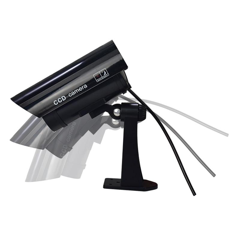 FGHGF Fake Camera Outdoor Indoor surveillance camera Fake IP Surveillance Security Camera Dummy Night CAM LED Light Fake Camera