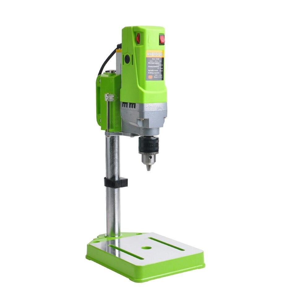Wiertarka CNC 220V 710W wiertarka ławka mała wiertarka elektryczna stół warsztatowy przekładnia zębata dla DIY drewno Metal elektryczny