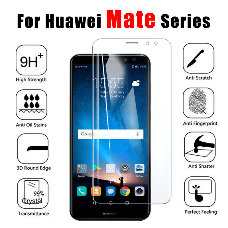 保護ガラス huawei 社メイト 10 20 Lite プロ強化 glas フィルム huawai tremp mate20 10 lite 20 lite のスクリーンプロテクター
