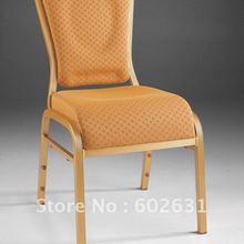 Укладка алюминиевый водопад сиденье удобный Банкетный стул LUYSI3100