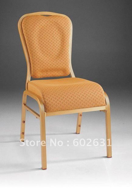 Empilable En Aluminium Cascade Sige Confortable Chaise De Banquet LUYSI3100