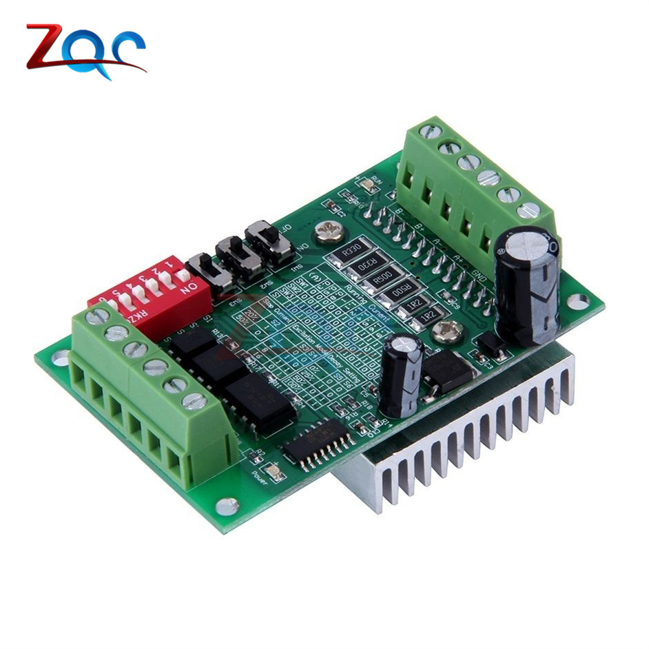 TB6560 3A Stepper motor drives CNC stepper motor board Single axis controller 10 files motor controller board New TB6560AHQ hot tb6560ahq ic tb6560 stepper driver toshiba chip sm003 cf