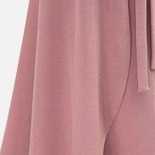 Chiffon Pink Ruffle Women's Long Skirt High Waist Split Irregular Maxi Skirts 6xl