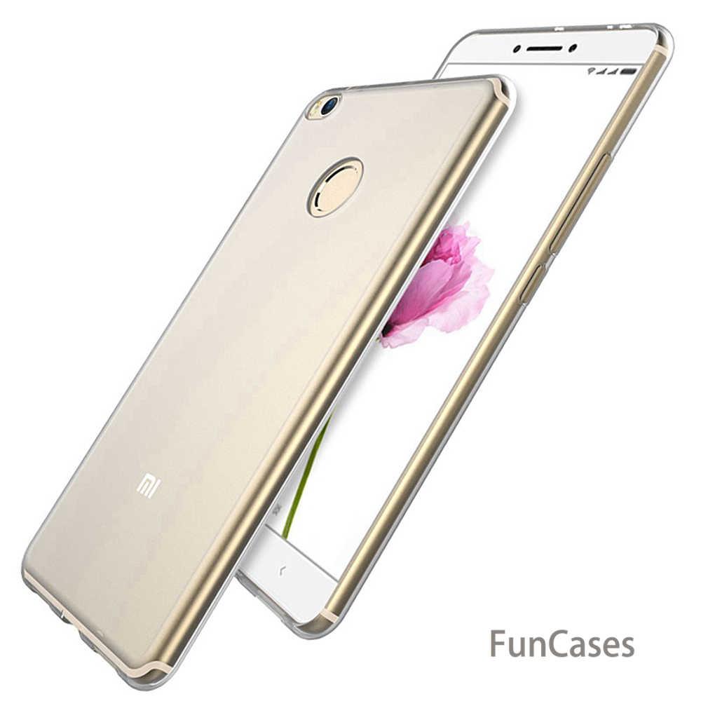 Ultra cienki miękki przezroczyste etui z TPU dla Xiaomi RedMi 3 S 3X Pro 4 4A 5 Plus uwaga 2 3 4 4X 5A przezroczyste silikonowe tylna pokrywa obudowa na telefon