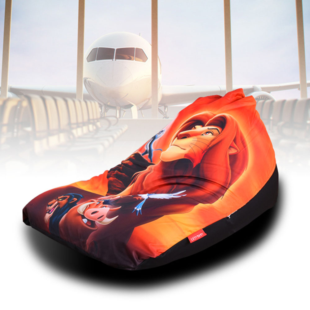 Tremendous Us 55 0 Levmoon Beanbag Sofa Chair The Lion King Seat Zac Comfort Bean Bag Bed Cover Without Filler Cotton Indoor Beanbag Lounge Chair In Living Inzonedesignstudio Interior Chair Design Inzonedesignstudiocom