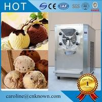 Stainless steel Desktop Hard ice cream machine, 16 20L/H Home ice cream maker for sale