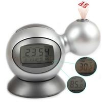 Projection Alarm Clock Digital Led Backlight Projector DIisplay Calendar Thermometer Temperature Table Clock