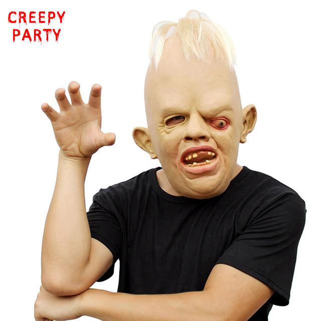Creepy One-eyed Monster Mask