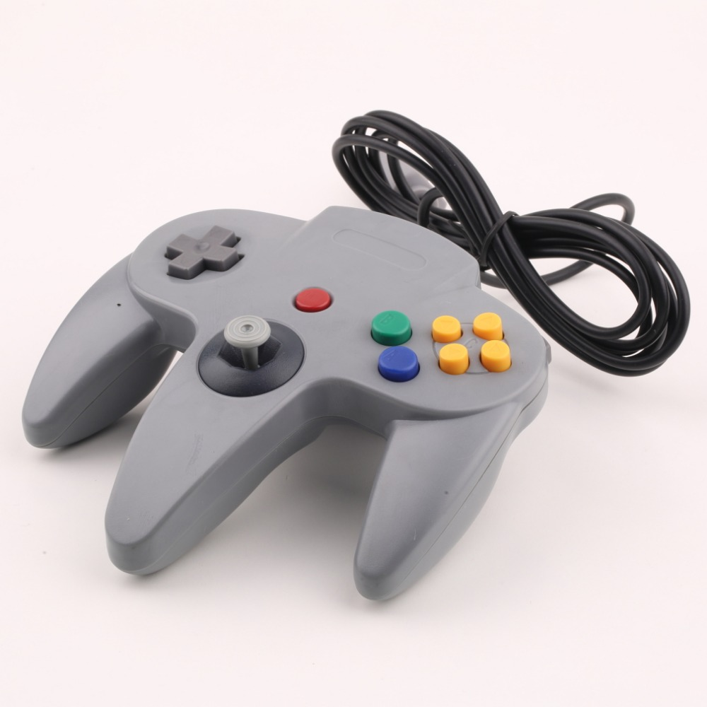 Wholesale Long Handle Game Wired Controller Joypad Joystick Gaming For Nintendo N64 System