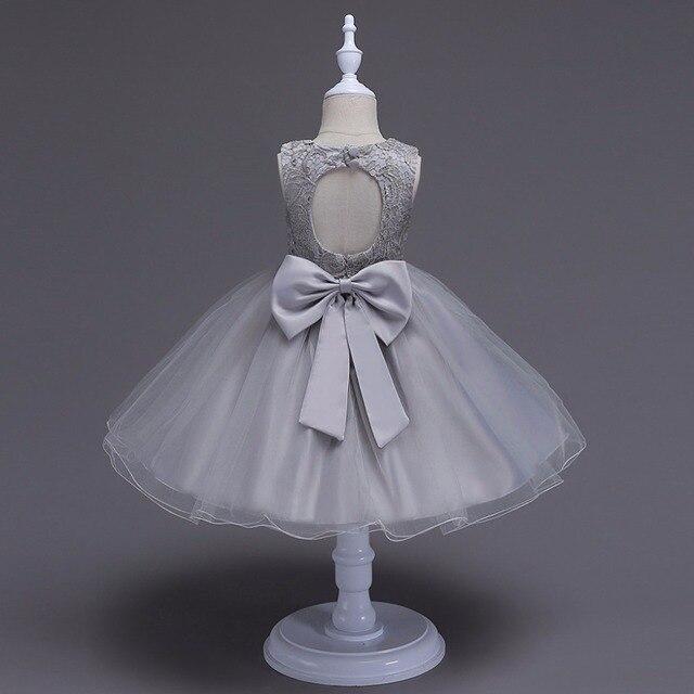 3-10 Y Girl floral princess party dress girls dress summer children  clothing wedding birthday baby dress tutu vestidos baby girl d9c0d7b362ba