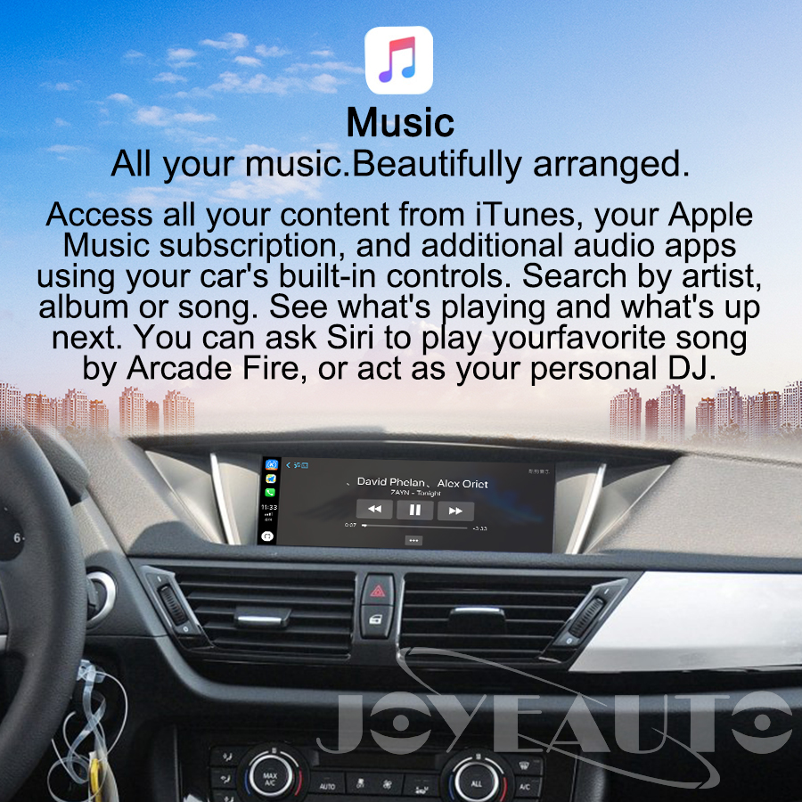 Image 5 - Joyeauto ワイヤレス apple carplay bmw cic 6.5 8.8 10.25 インチ 1 3 5 6 7 シリーズ X1 X3 X5 x6 Z4 2009 2013 アンドロイド自動車再生車載テレビ受信機   -