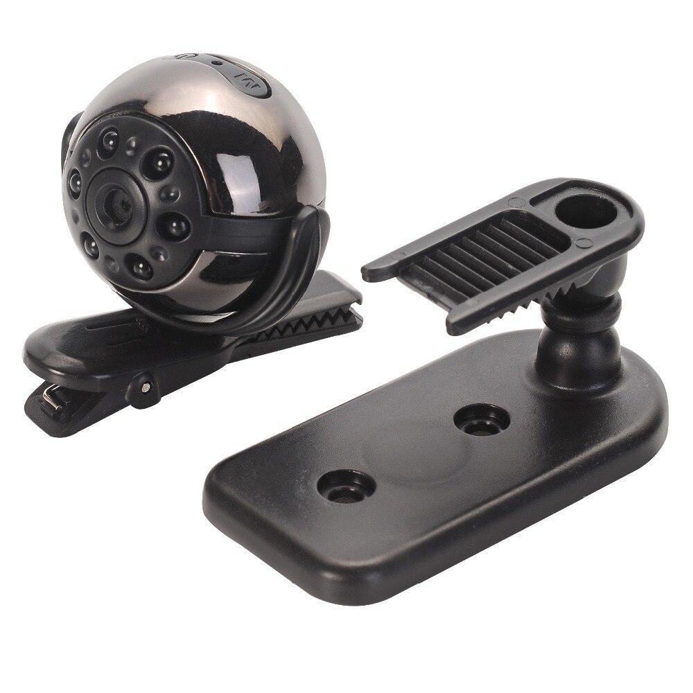 SQ9 1080P Mini Camera 360 Degree Rotation Clip Infrared Night Motion Detection micro camera espia mini camera mini dv