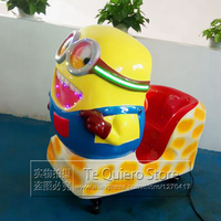 Amusement Token Operated Fiber Glass Kiddie Rides Swing Machine Ride On Toy Cars For Baby