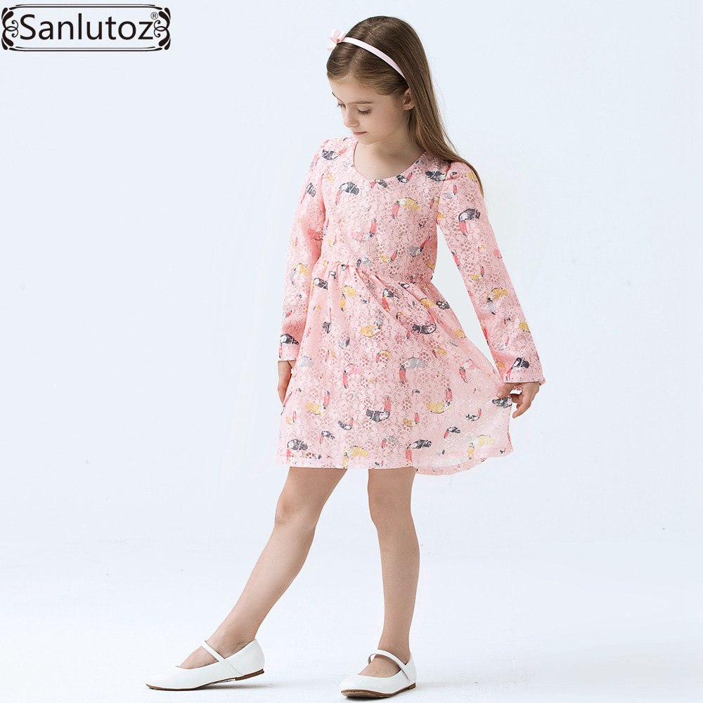 Girls Dress Brand Kids Clothes Children Girls Clothing