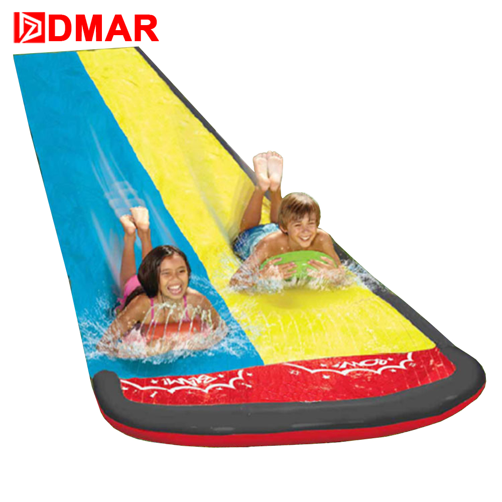 DMAR Inflatable PVC Slide for Kids Adults Outdoor Beach Inflatable Bed Park garden water spray toys Children Water Toys 2017 new hot sale inflatable water slide for children business rental and water park