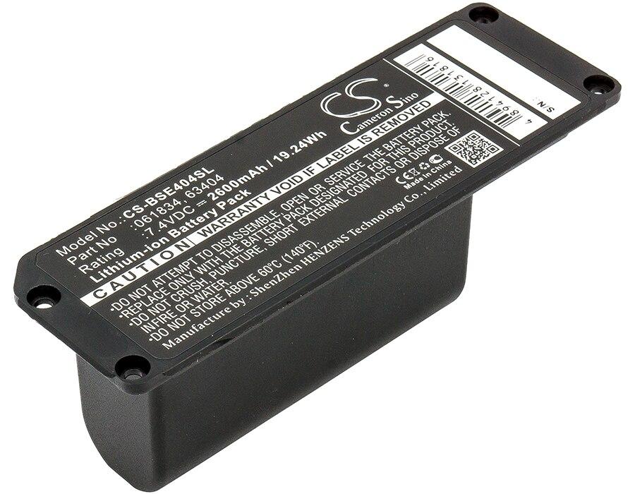 063404 Cameron Sino Battery For Bose Soundlink Mini Speaker Battery 2600mAh / 19.24Wh портативная акустика bose soundlink revolve plus lux grey