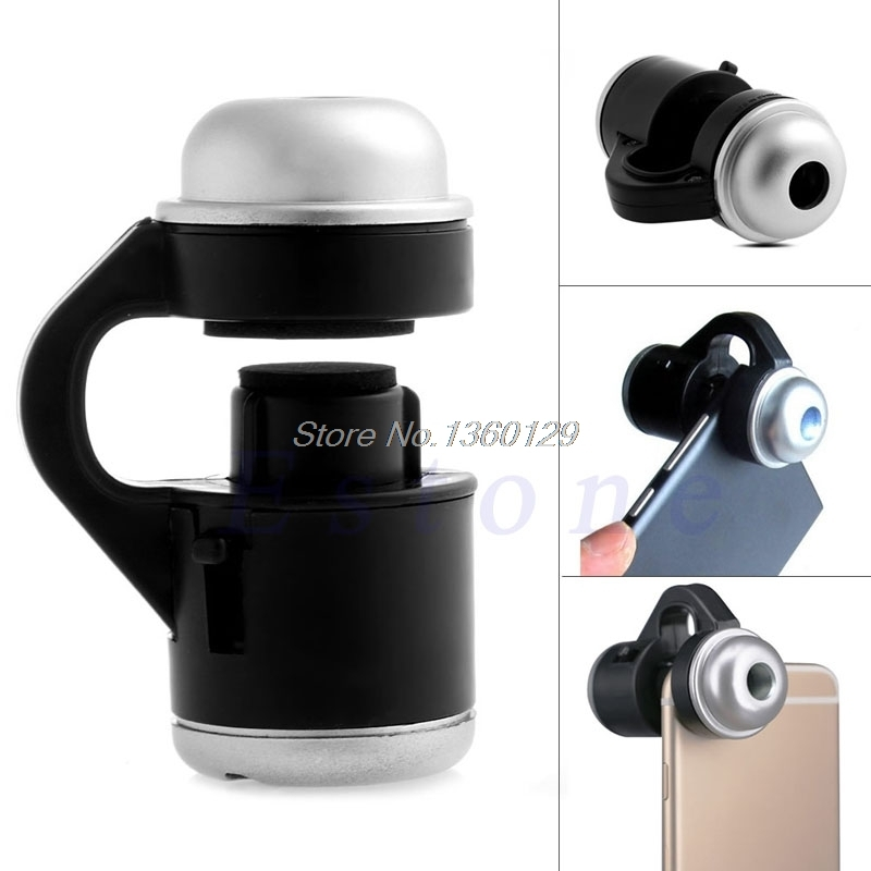 Lenses 30x Zoom Mobile Phone Telescope Camera Led Microscope Lens For Iphone Samsung Lg Dec12 Dropship A Plastic Case Is Compartmentalized For Safe Storage