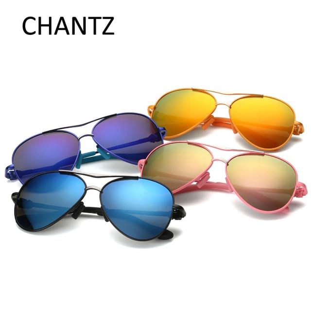 31e16ad409 Pilot Polarized niños Gafas de sol niños aleación Sol Gafas 565 espejo Gafas  para Niñas y