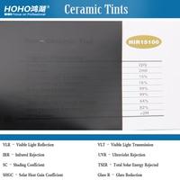 15% VLT Ceramic window tint for Car rear/side window 5ft x 100ft/1.52x30m roll