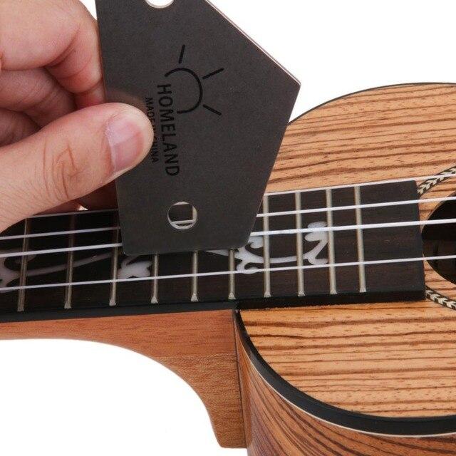 Outils de nivellement de frettes de guitare à bascule de trouveur de Fret de Luthiers d'acier inoxydable