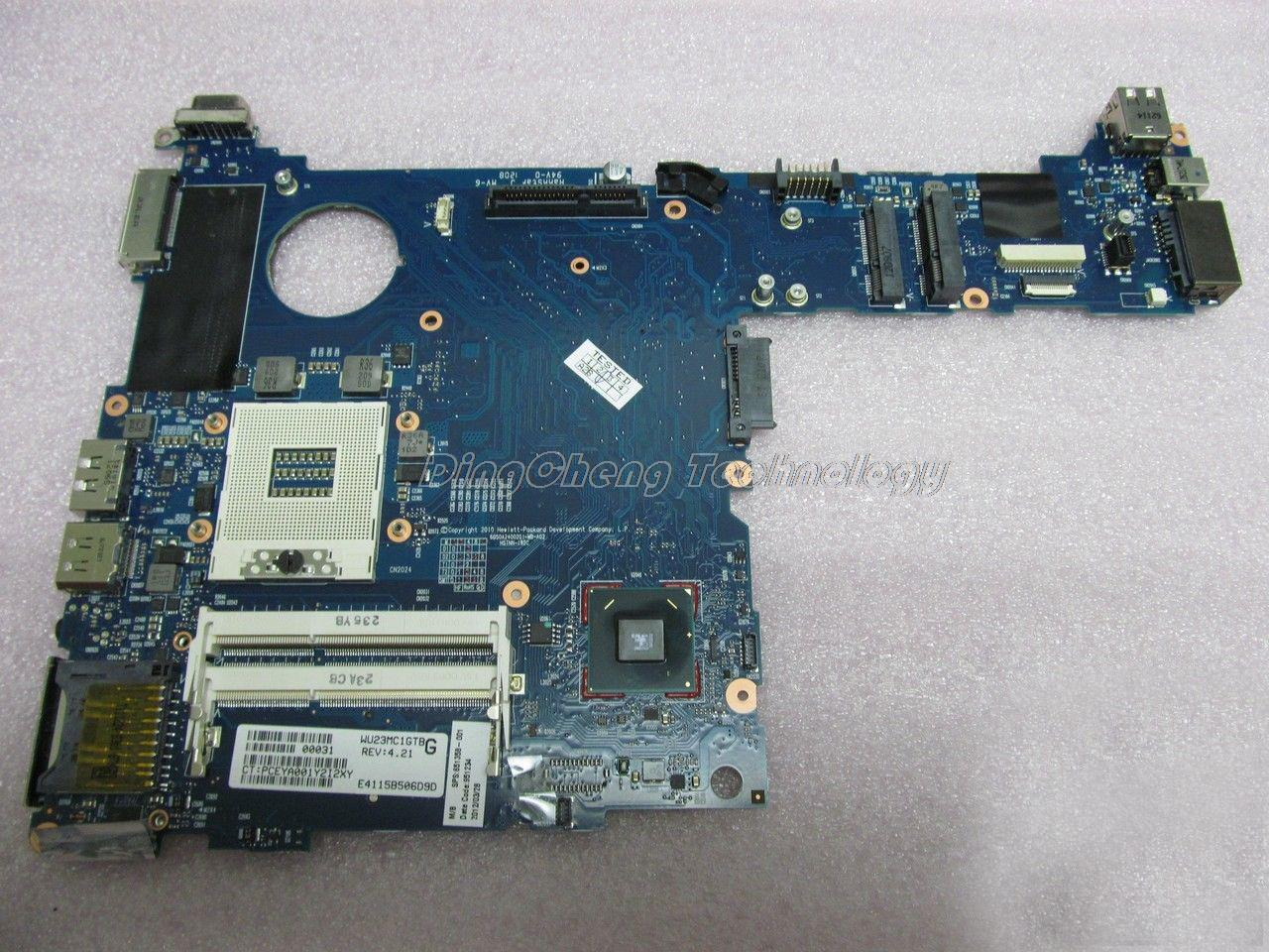 SHELI laptop Motherboard For hp 2560P 651358-001 DDR3 QM67 HD3000 integrated graphics card 100% tested Fully
