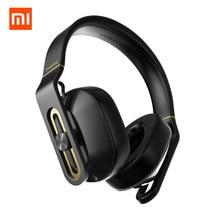 Xiaomi originais 1 MAIS Sobre Ear Headband Fones de Ouvido Com Fio Com Microfone Estúdio Baixo HIFI Big Fone de Ouvido fone de Ouvido Para Xiaomi 6 Mix