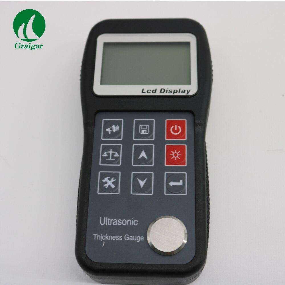 Nuovo KT320 Digitale Campo di Misura Calibro di Spessore Ad Ultrasuoni di Metallo 0.75mm ~ 300.0mm KT-320 da Trasporto Veloce