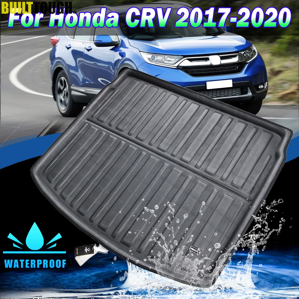 Yoursme Cargo Liner Rear Cargo Tray Trunk Floor Mat Waterproof Protector for Honda CRV 2017 2018