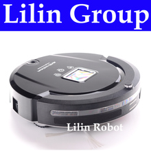 (Free to Chile) Robot Vacuum Cleaner,Multifunction(Sweep,Vacuum,Mop,Sterilize)LCD,TouchButton,Schedule,Self Charge