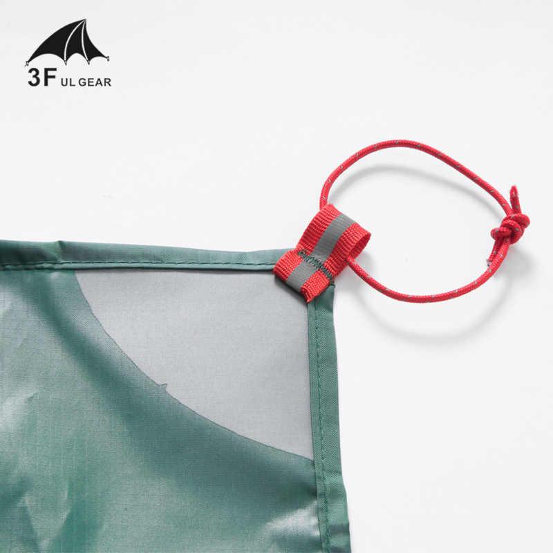 3F UL Tenda ENGRENAGEM Protetor de Piso Reforçado Multi-Purpose Encerado Tarp pegada tenda camping praia piquenique À Prova D' Água Bay Jogar