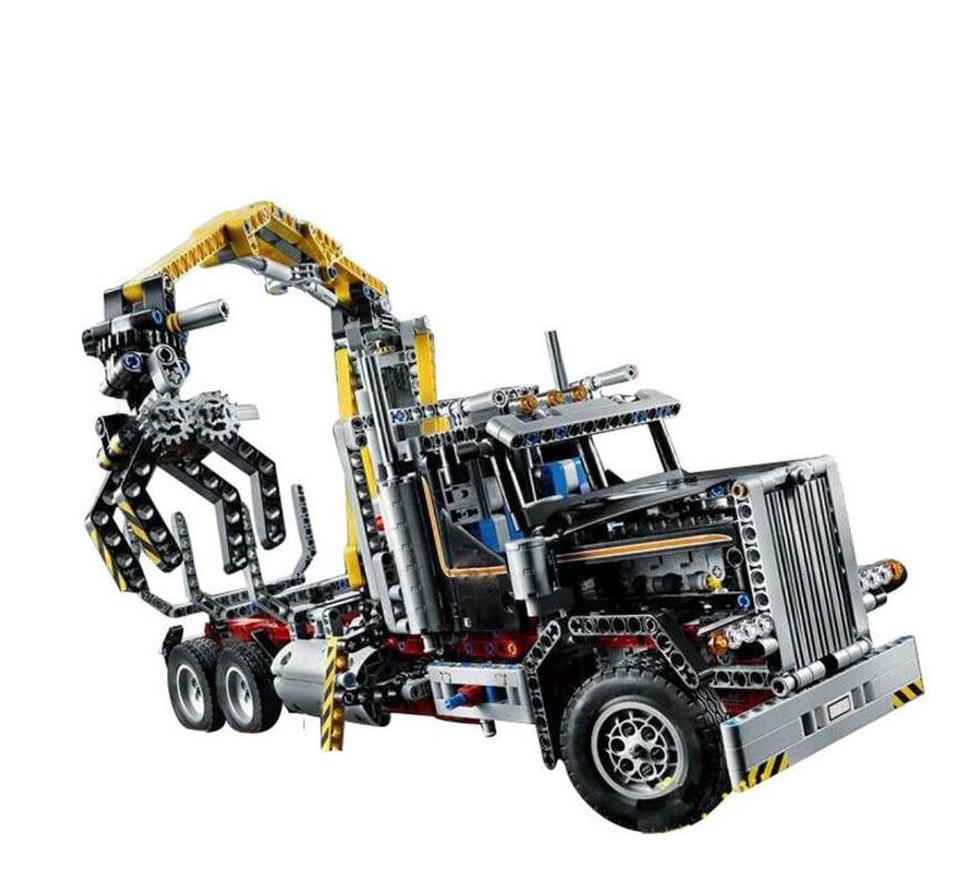 Compatible Technic Series 9397 Lepin 20059 1338pcs Truck Set building blocks Figure bricks toys for children lepin 20059 1338pcs technic mechanical