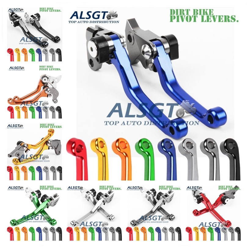 For Yamaha YZ 426F 450F 426 450 F YZ426F YZ450F 2009-2017 2013 2012 2011 2010 CNC Pivot Racing Dirt Bike Clutch Brake Levers Hot cnc 7 8 for yamaha yz250f 2009 2014 motocross off road brake master cylinder clutch levers dirt pit bike 2010 2011 2012 2013