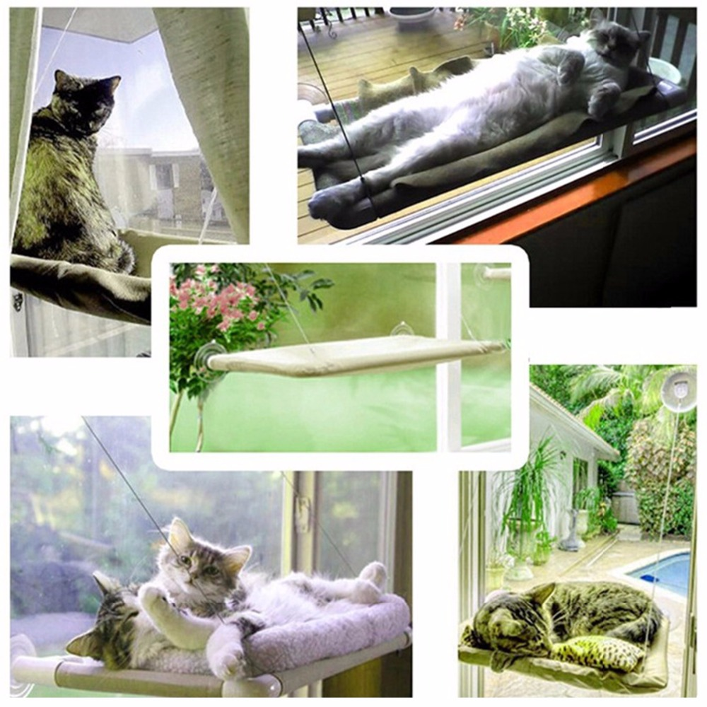 Hanging Cat Window Hammock 5