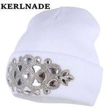 a2d0f0c8b75ff women wool winter hat brand skullies beanies Custom designer luxury  rhinestone style warmer casual winter hats