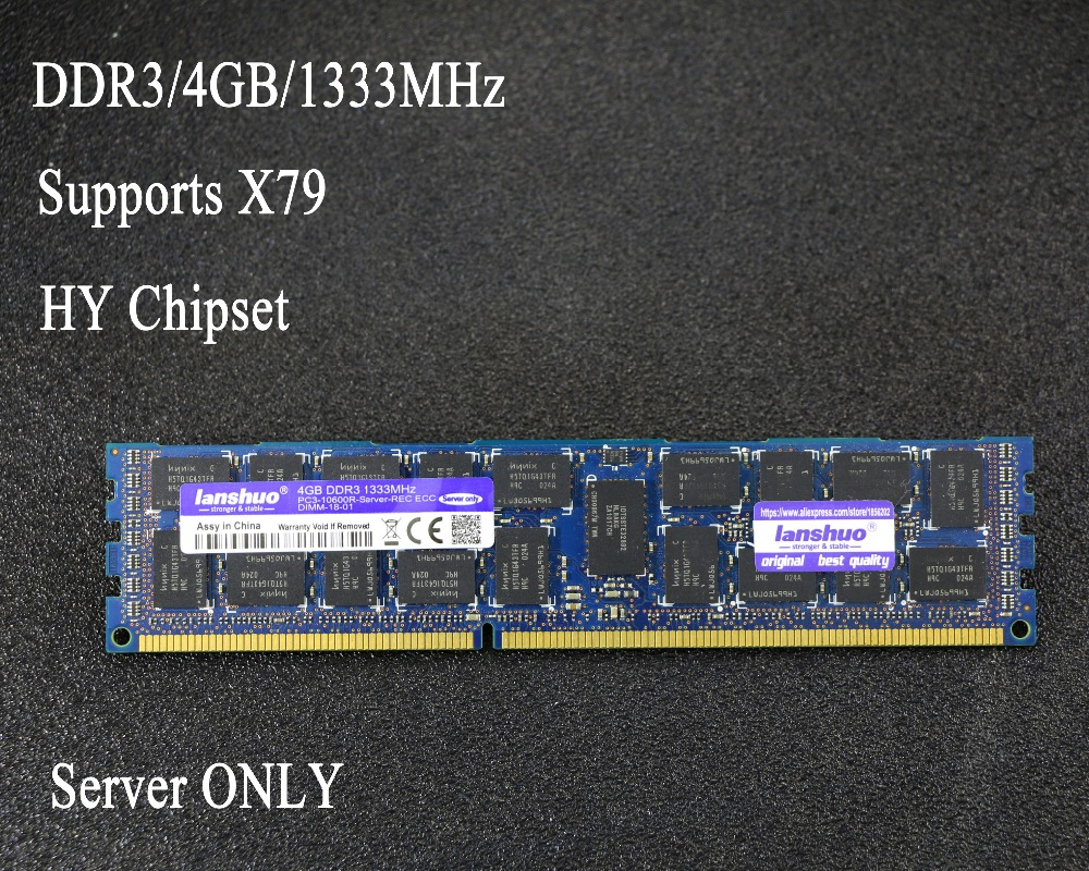 Original chipset 4 gb DDR3 1333 mhz 1600 mhz 1866 mhz 8g 1333 1600 1866 REG ECC serveur mémoire RAM 16 gb 24 gb 16g 24g 32 gb 32g X79 X58
