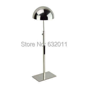 Mirror silver  Metal Hat display stand hat display rack hat holder cap display hat holder rack