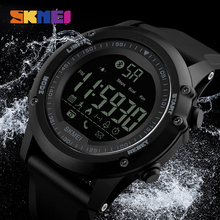 SKMEI font b Smartwatches b font Men Pedometer Waterproof Digital Smart Wristwatches Remote Camera Calorie Bluetooth