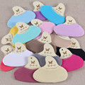 Summer fashion mujeres deslizadores del calcetín del color del caramelo calcetines elasticidad