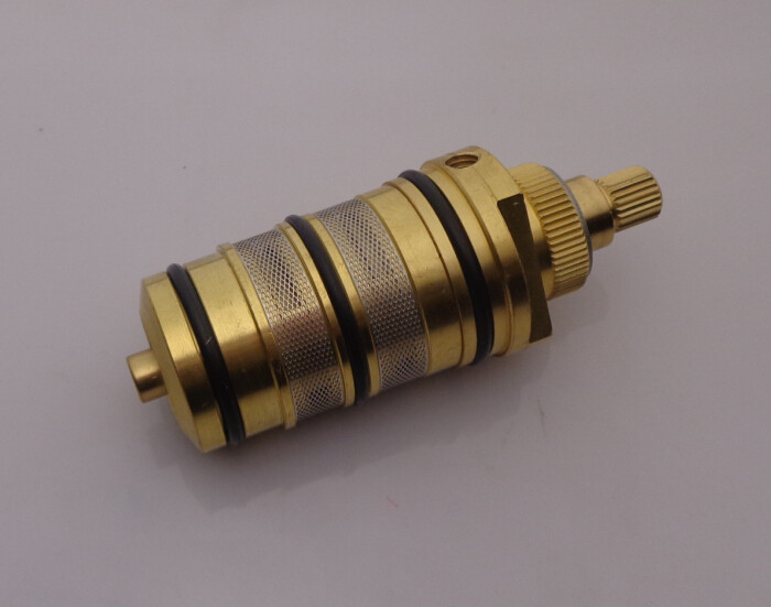 Brass Bath Shower Thermostatic Cartridge & Handle For Mixing Valve Mixer Shower Bar Mixer Tap Shower Mixing Valve Cartridge AF00