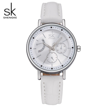 SK Brand Luxury Ladies Dress Watches Fashion Montre Femme Quartz-Watch Woman Relojes Mujer 2017 Relogio Feminino Wristwatch 0005