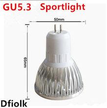 1 pcs Super Bright 9 W 12 W 15 W GU5.3 lampada LEVOU 110 V 220 V Dimmable Levou Holofotes quente Natural Branco GU5.3 Esfria CONDU
