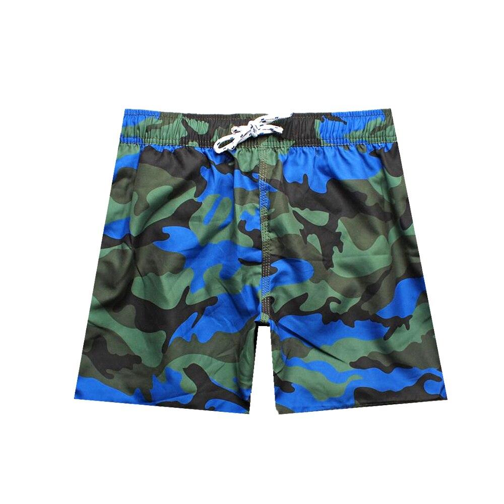 Камуфляж Новая Мода Quick Dry Лето Для мужчин S Beach Пляжные шорты серфинга Бермуды Шорты для Для мужчин спортивные Для мужчин S Шорты