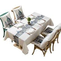 Скатерть замок британский стиль водонепроницаемая скатерть Toalha De Mesa Nappe Decoracao Para Casa Manteles покрытие стола