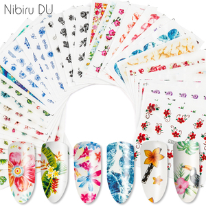 12 Sheets Designs Maple Petal Dream Catcher Nail Summer Designs Nail Art Water Transfer Decals for Nails Tips Sticker