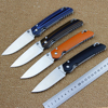 High Quality KF 01 Folding Knife G10 Handle D2 Steel Blade Camping Hunting Tactical Knife Outdoor
