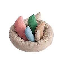 Новорожденная фотография подставка для фотографий позирует Bebe обертывания спальная Подушка Детские пеленальные одеяла