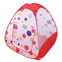 Baby Play Tent Indoor Outdoor Children's Tents House Large Portable Ocean Balls Great Game Playhouse Tent for Kids